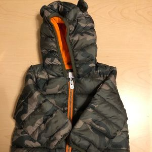 Gap boys puffer coat